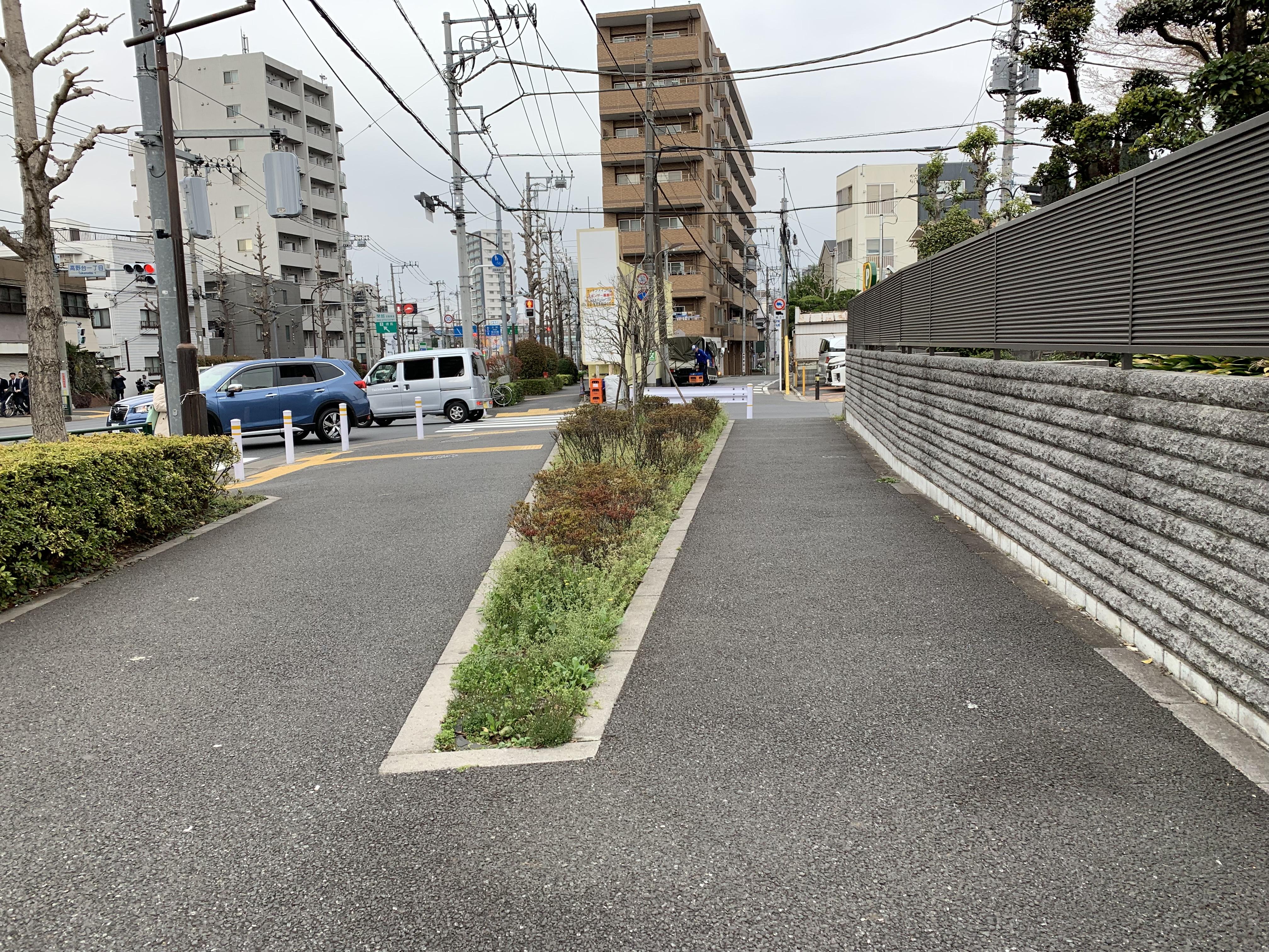 赤塚城〜石神井城〜練馬城の街道を歩く
