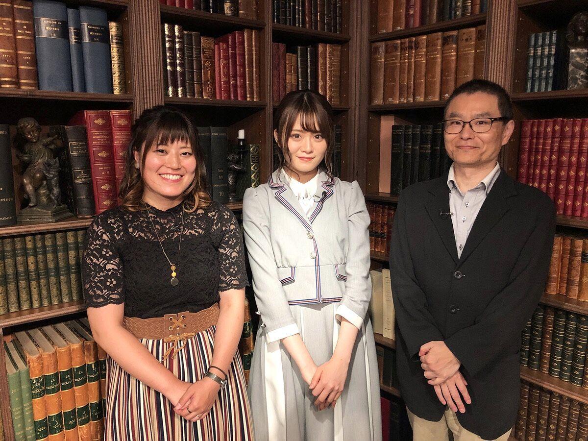 【告知】dTVチャンネル「乃木坂46山崎怜奈 歴史のじかん」に出演します
