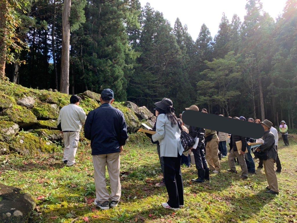 坂戸城居館跡発掘調査説明会に行ってきました!