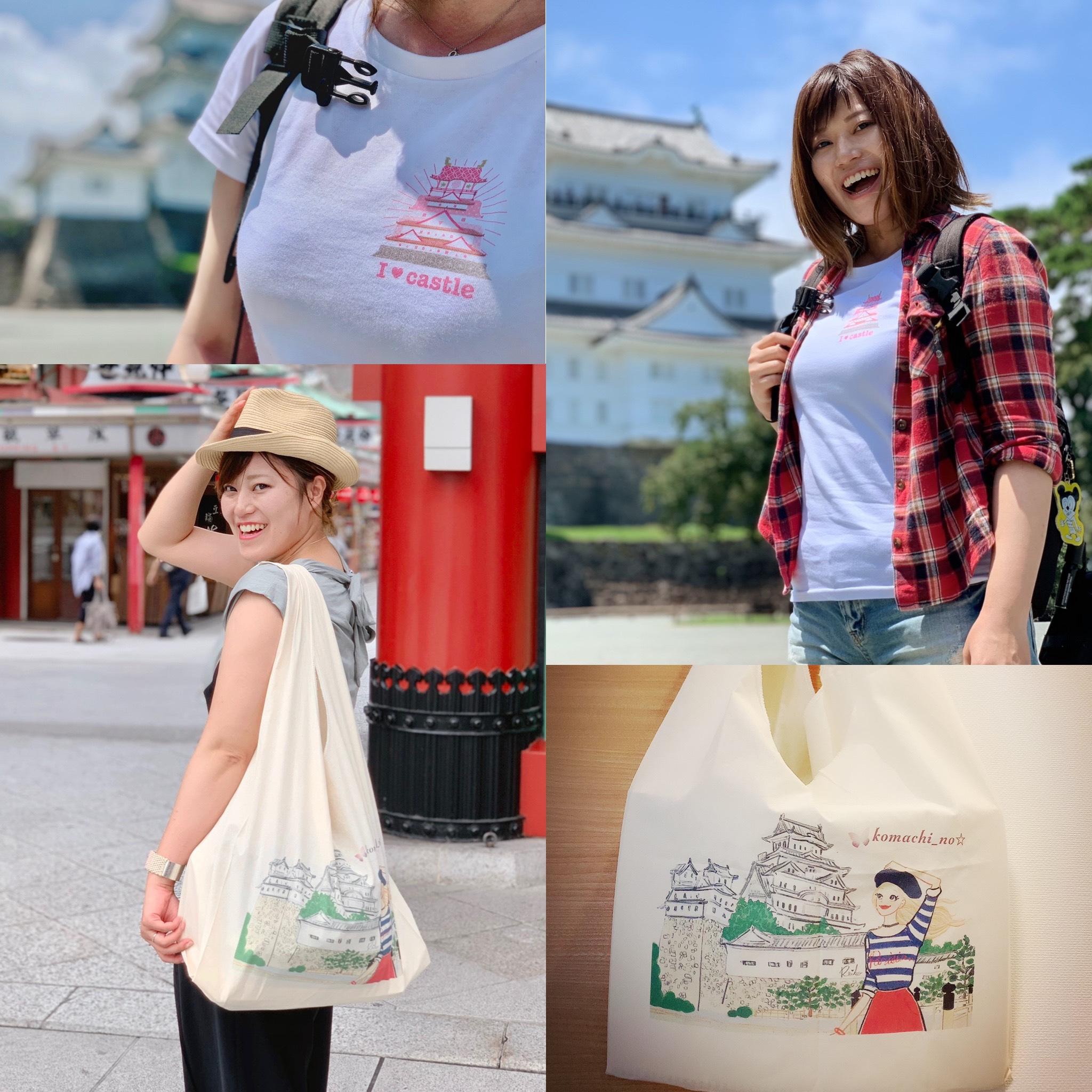 【宣伝】マルシェバックとTシャツのおすすめ商品をご紹介します!